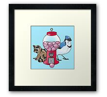 Regular Friends Framed Print