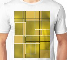 Composition 11 with black and white lines Unisex T-Shirt