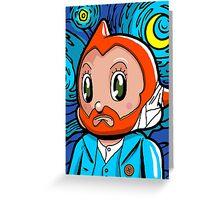Astro Night Greeting Card