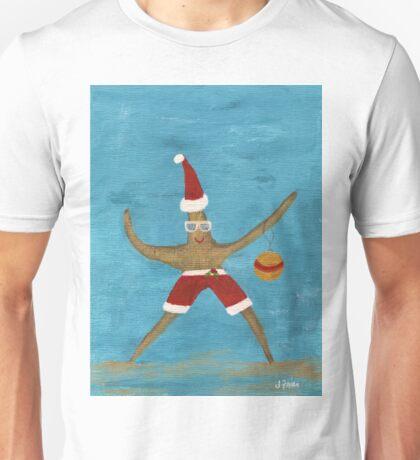 Christmas Starfish Unisex T-Shirt