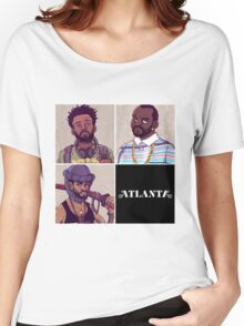 4Ever I Love ATLANTA Women's Relaxed Fit T-Shirt
