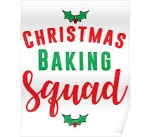 Christmas Baking Squad Poster
