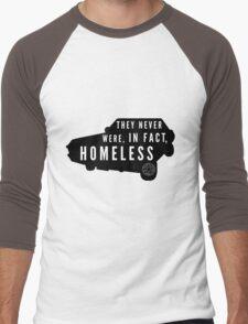Never Homeless Men's Baseball ¾ T-Shirt
