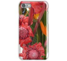 flores tropicales iPhone Case/Skin
