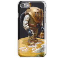 Old school diver iPhone Case/Skin