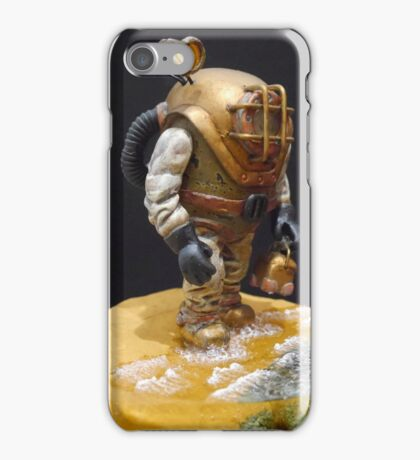 Old school diver iPhone Case/Skin