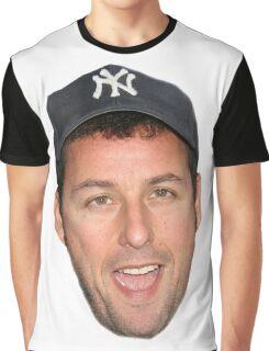 Adam Sandler's Face Graphic T-Shirt