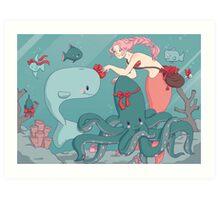 Gift of the Sea Art Print