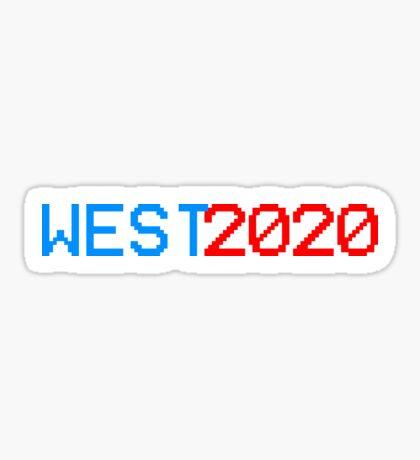 West 2020 Sticker