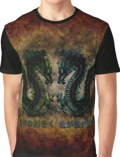 Chinese Dragons  Graphic T-Shirt