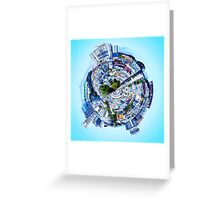 small city Greeting Card