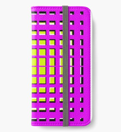 Pink Polynomial iPhone Wallet/Case/Skin
