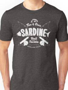 Tim and Sons Sardine Bait and Tackle Unisex T-Shirt