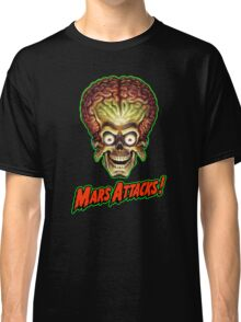 Mars Attacks Alien Head Classic T-Shirt