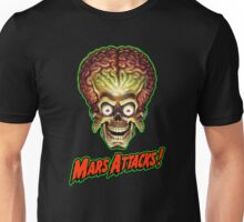 Mars Attacks Alien Head Unisex T-Shirt