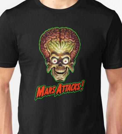 Mars Attacks Alien Head Unisex T-Shirt