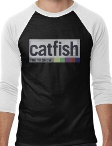 Catfish the TV Show Men's Baseball ¾ T-Shirt