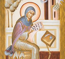 St Kassiani the Hymnographer by ikonographics