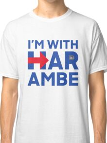 I'm With Harambe Classic T-Shirt