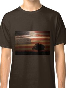 American Country Supermoon Classic T-Shirt