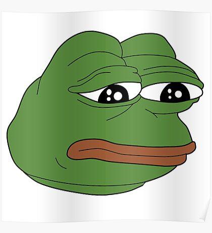 Pepe :( feelsbadman Poster