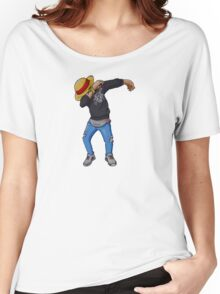 Luffy is Dab Women's Relaxed Fit T-Shirt
