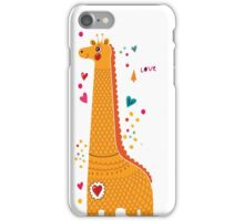 I'm a Giraffe iPhone Case/Skin
