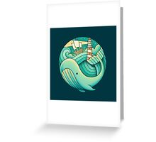 Into the Ocean Greeting Card