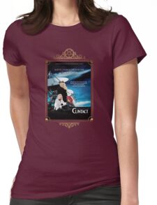 Contact Movie Poster With Katya and Trixie Womens Fitted T-Shirt