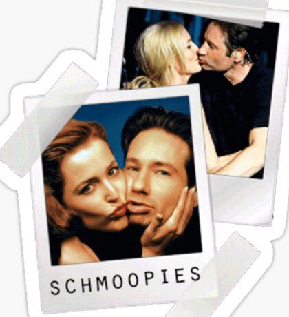 i'm with schmoopie Sticker