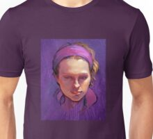 Portrait of Phoebe : Oil Painting Unisex T-Shirt