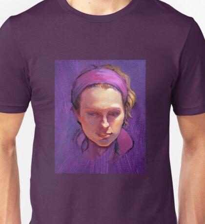 Portrait of Phoebe : Oil Painting Unisex T-Shirt
