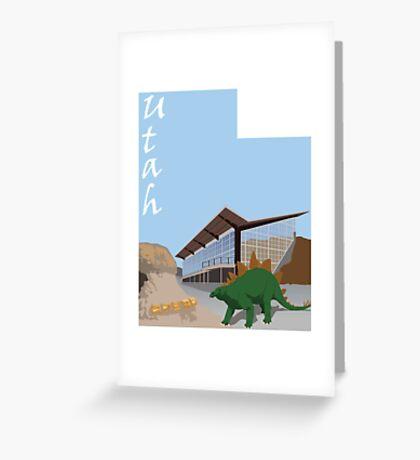 Dinosaur National Park Greeting Card
