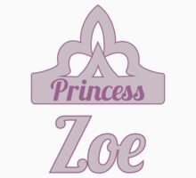 Baby girl AKA Princess Zoe Kids Tee
