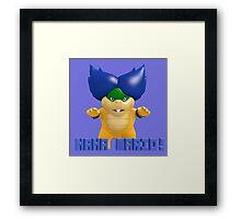 Super Mario Bros. - Ludwig Framed Print