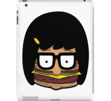 Tina - Burger iPad Case/Skin