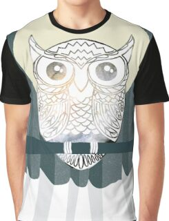 Owl is Calm Graphic T-Shirt