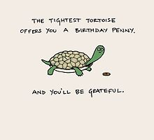 The Tightest Tortoise Offers You A Birthday Penny. by evilflea