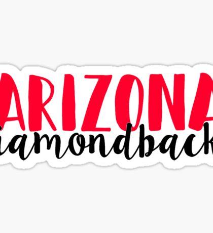 Arizonia Diamondbacks Sticker