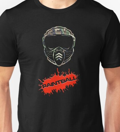 Paintball Camo Unisex T-Shirt