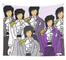 Purple Revolution Collage Wall Tapestry