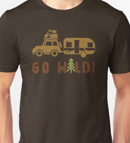 Camp Go Wild Unisex T-Shirt