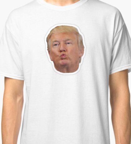 donald trump kiss meme  Classic T-Shirt