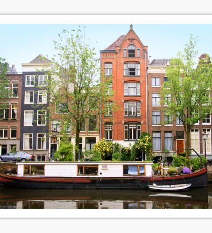 Amsterdam Canal Sticker