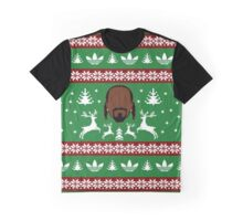 Ugly Christmas Sweater: Holidogg Graphic T-Shirt