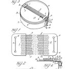 Snare Drum by W.F. Ludwig United States Patent Drawing Design by Framerkat