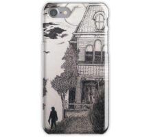 Creepy psycho Inspired Drawing iPhone Case/Skin