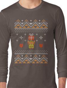 Zelda Christmas Sweater Long Sleeve T-Shirt