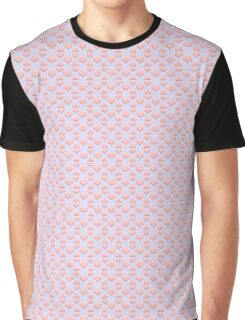Seamless pattern with hearts Graphic T-Shirt