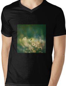 He Loves Me, He Loves Me Not, Wildflowers Mens V-Neck T-Shirt